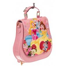 На фото 1 - Детский рюкзак-трансформер, цвет пудра
