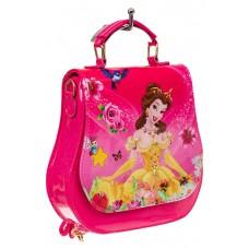На фото 1 - Детский рюкзак-трансформер, цвет фуксия