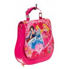 На фото 1 - Детский рюкзак-трансформер, цвет розовый