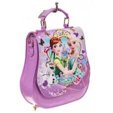 На фото 1 - Детский рюкзак-трансформер, цвет фиолетовый