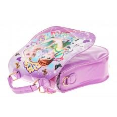 На фото 3 - Детский рюкзак-трансформер, цвет фиолетовый
