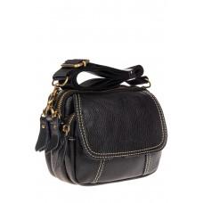 На фото 1 - Универсальная кожаная сумка, цвет черный