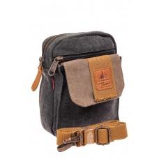 На фото 1 - Маленькая мужская сумка через плечо или на ...