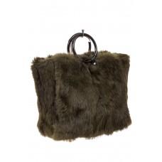 Кросс-боди из меха кролика, женская сумка оптом