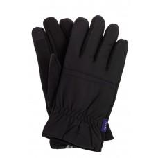 На фото 1 - Утепленные перчатки мужские, цвет черный