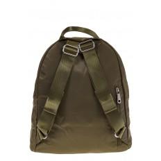 На фото 3 - Молодежный рюкзак из текстиля, цвет – защитный