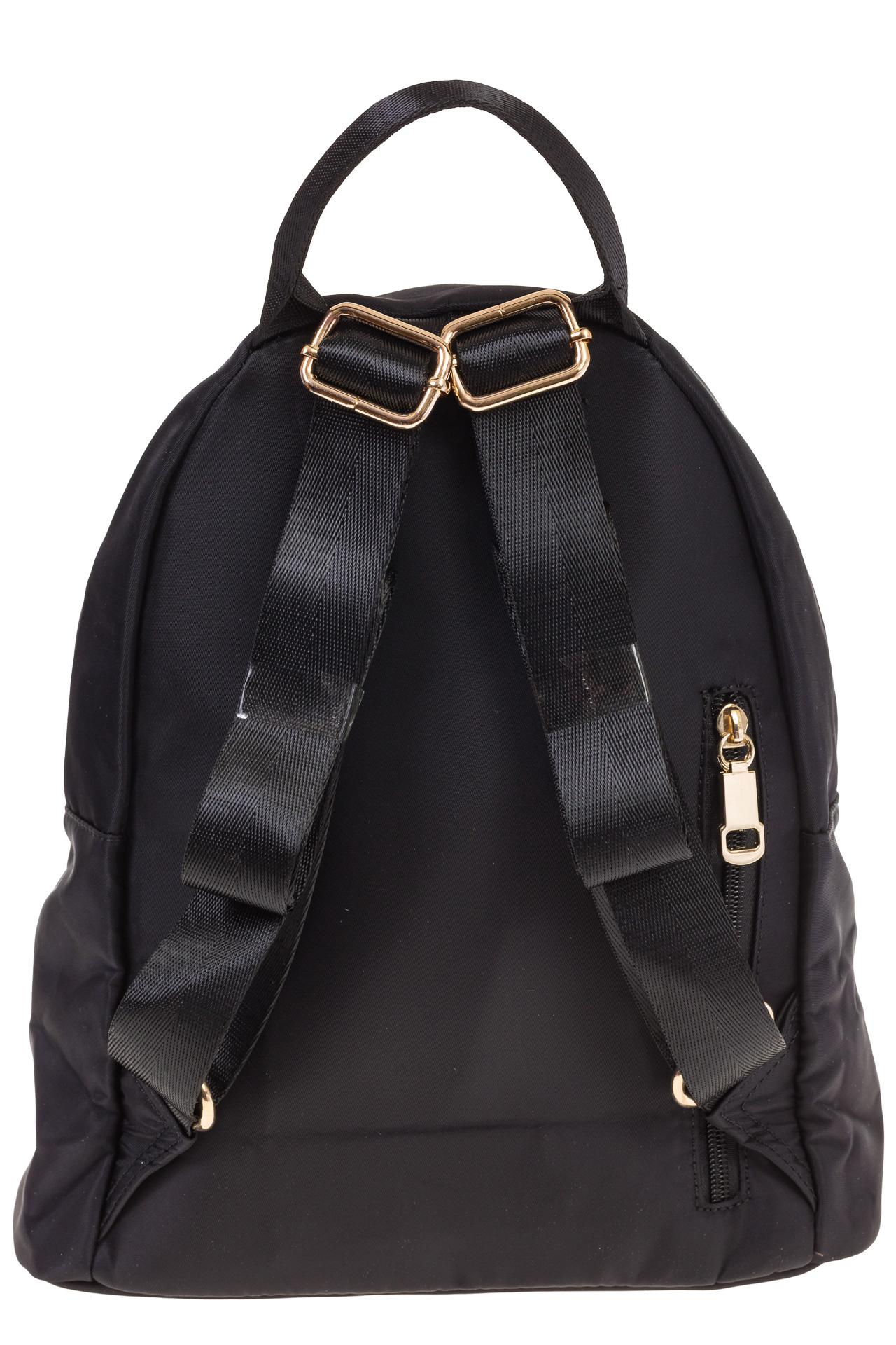 На фото 3 - Элегантный женский рюкзачок, цвет – черный