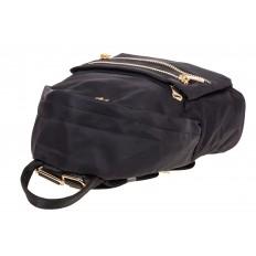 На фото 4 - Элегантный женский рюкзачок, цвет – черный