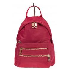 На фото 2 - Элегантный женский рюкзачок, цвет – красный