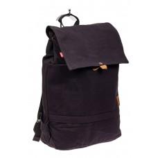 На фото 1 - Городской рюкзак мужской из джинсы, цвет си...
