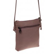 На фото 1 - Женская сумка Flat из натуральной кожи, цве...