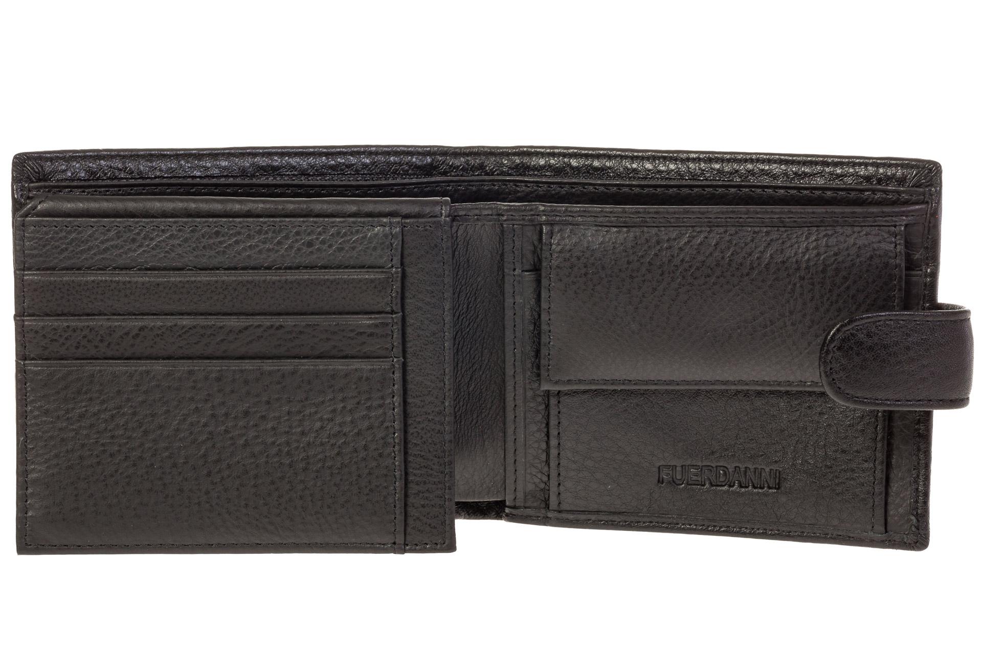 На фото 2 - Брендовый мужской кошелек из натуральной кожи