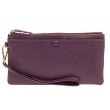 На фото 1 - Женский кошелек-клатч из натуральной кожи, ...