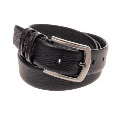 На фото 1 - Кожаный ремень мужской, длина от 120 до 130 см, цвет черный