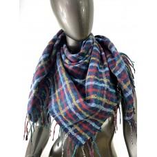 На фото 1 - Теплый платок из кашемира, мультицвет