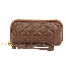 На фото 1 - Женская сумка-малышка из натуральной кожи, ...