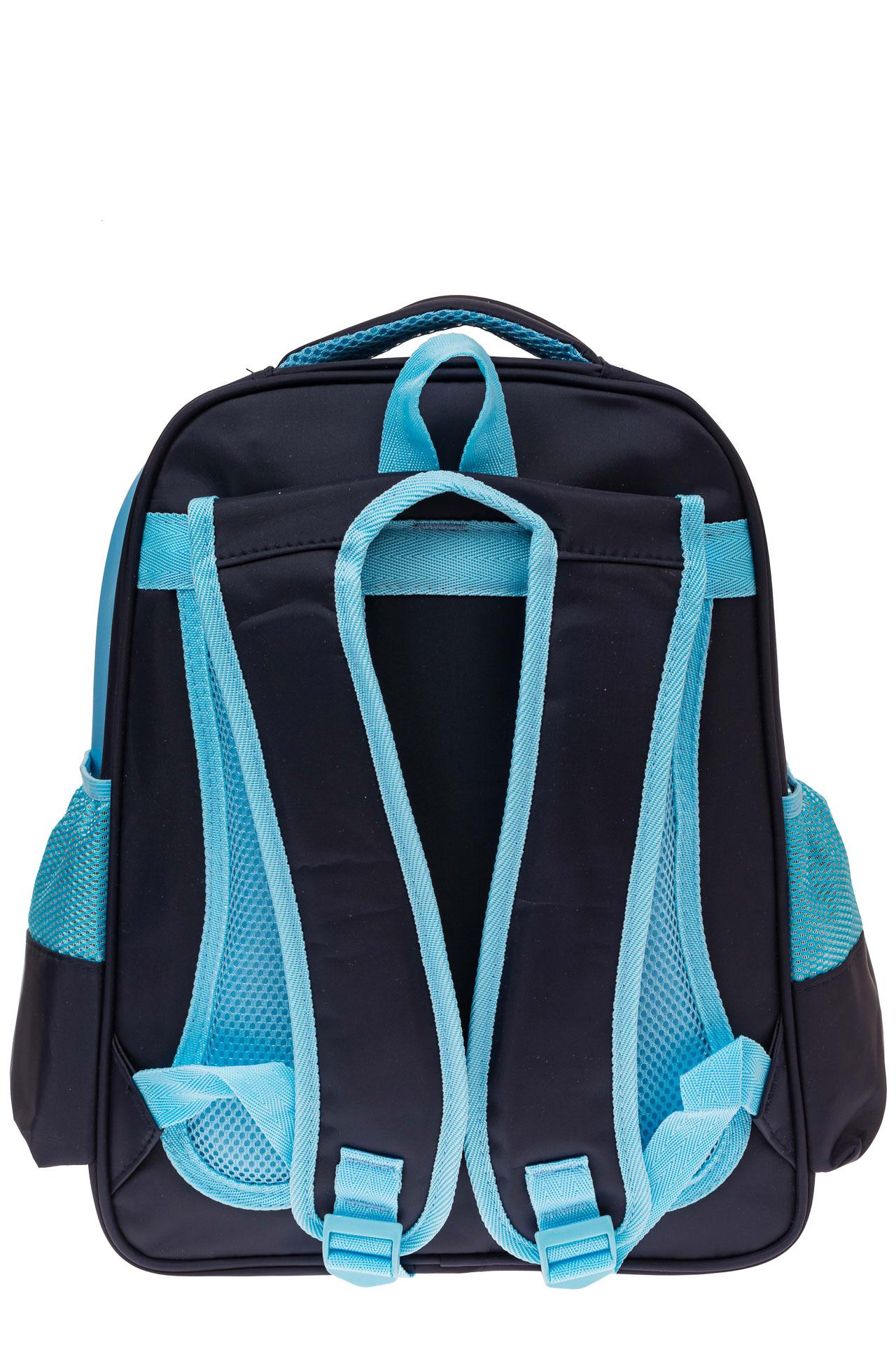 На фото 2 - Школьный рюкзак для детей, цвет синий