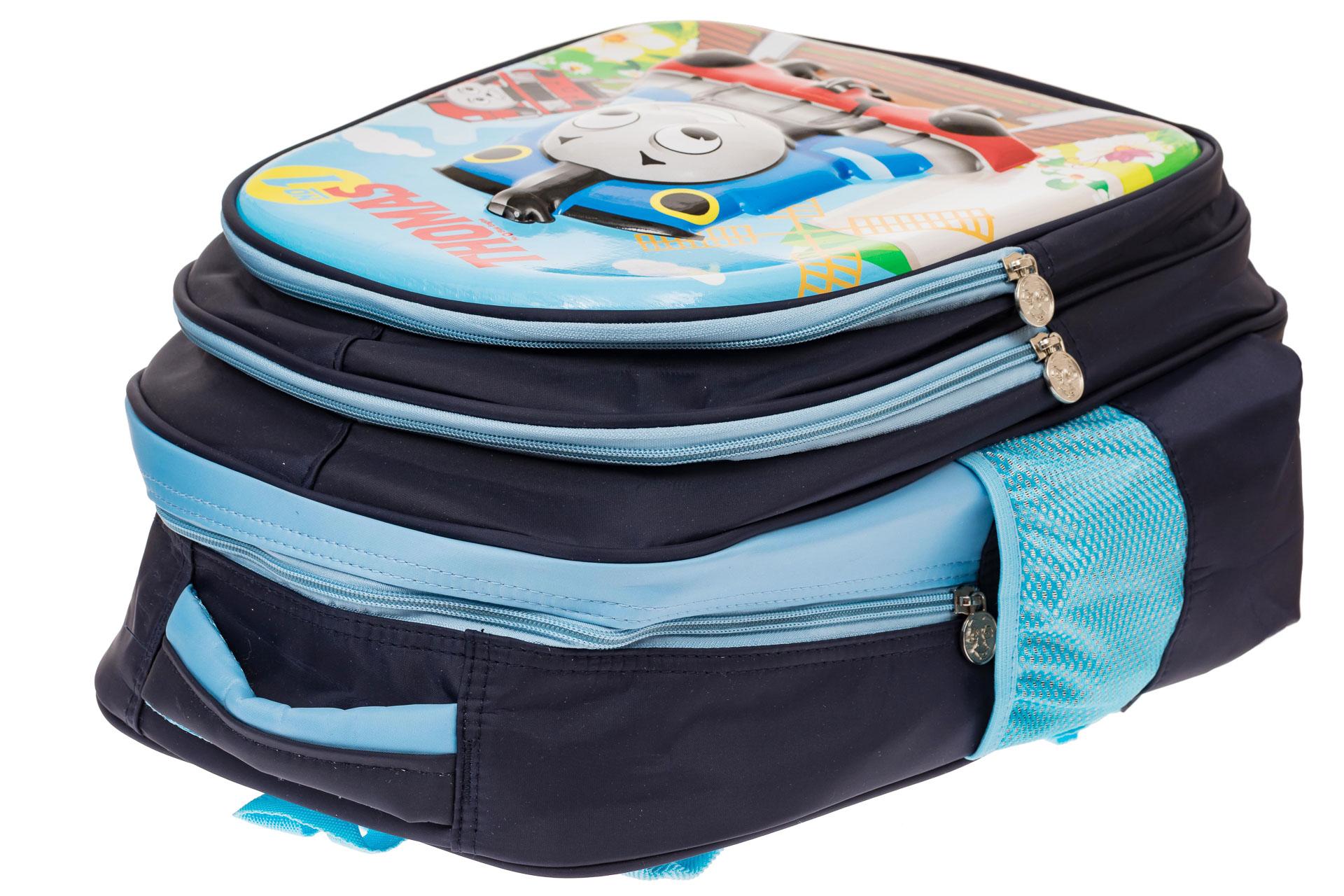 На фото 3 - Школьный рюкзак для детей, цвет синий