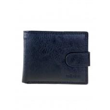 На фото 1 - Мужской кошелёк из экокожи, цвет чёрный