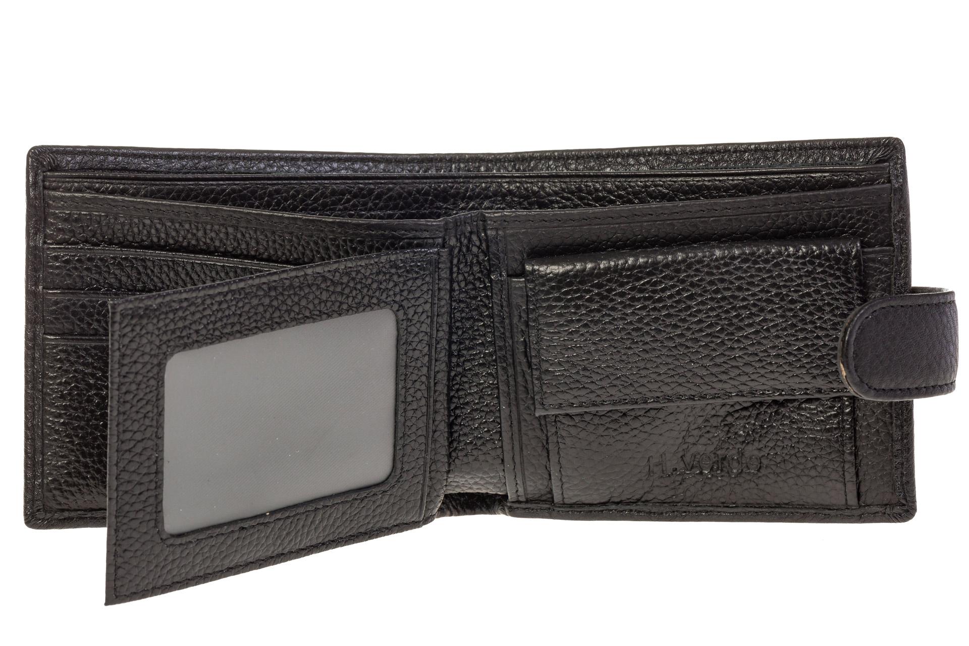 На фото 2 - Фирменный мужской кошелек из натуральной кожи