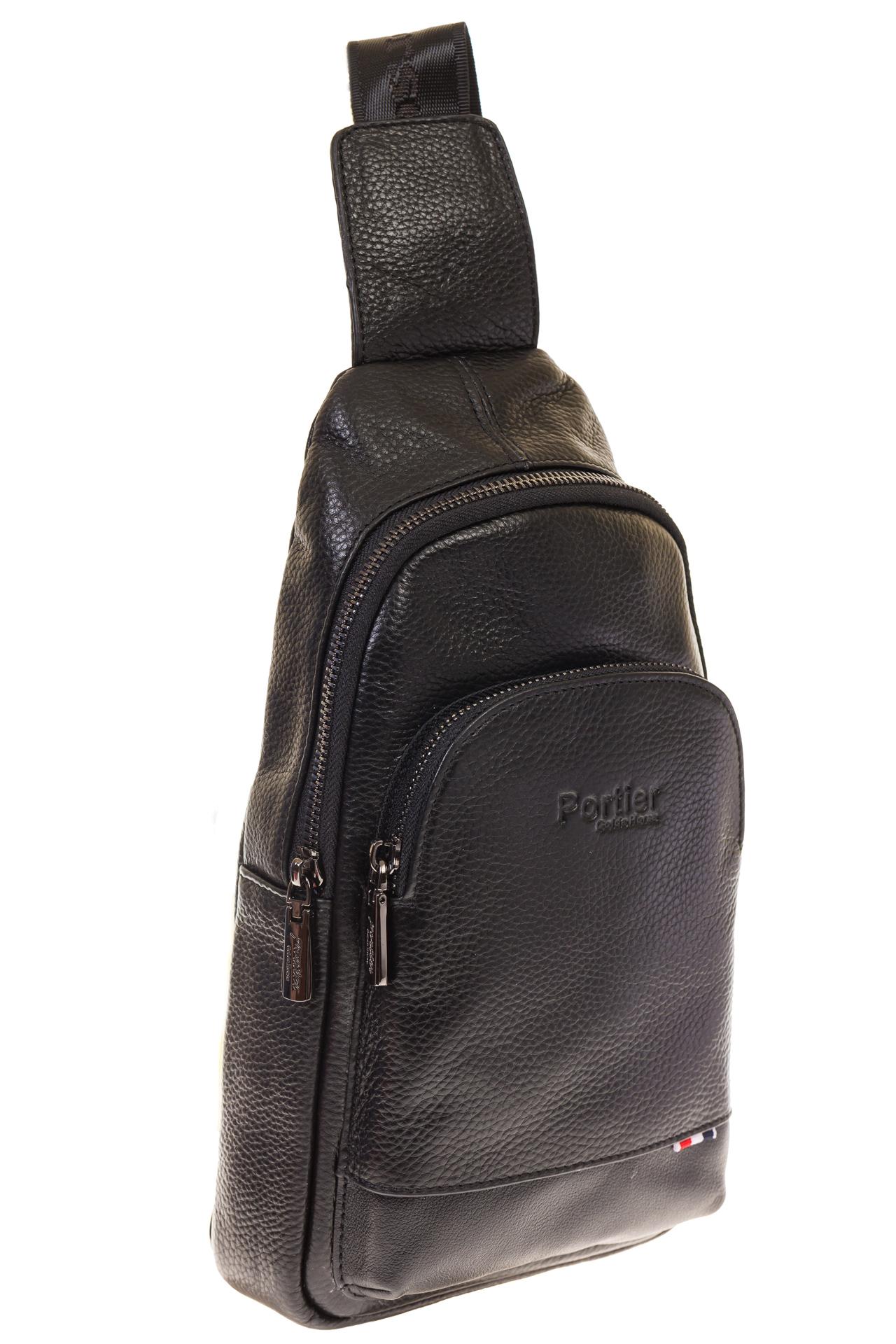 На фото 1 - Sling bag для мужчин из натуральной кожи 2098MM5