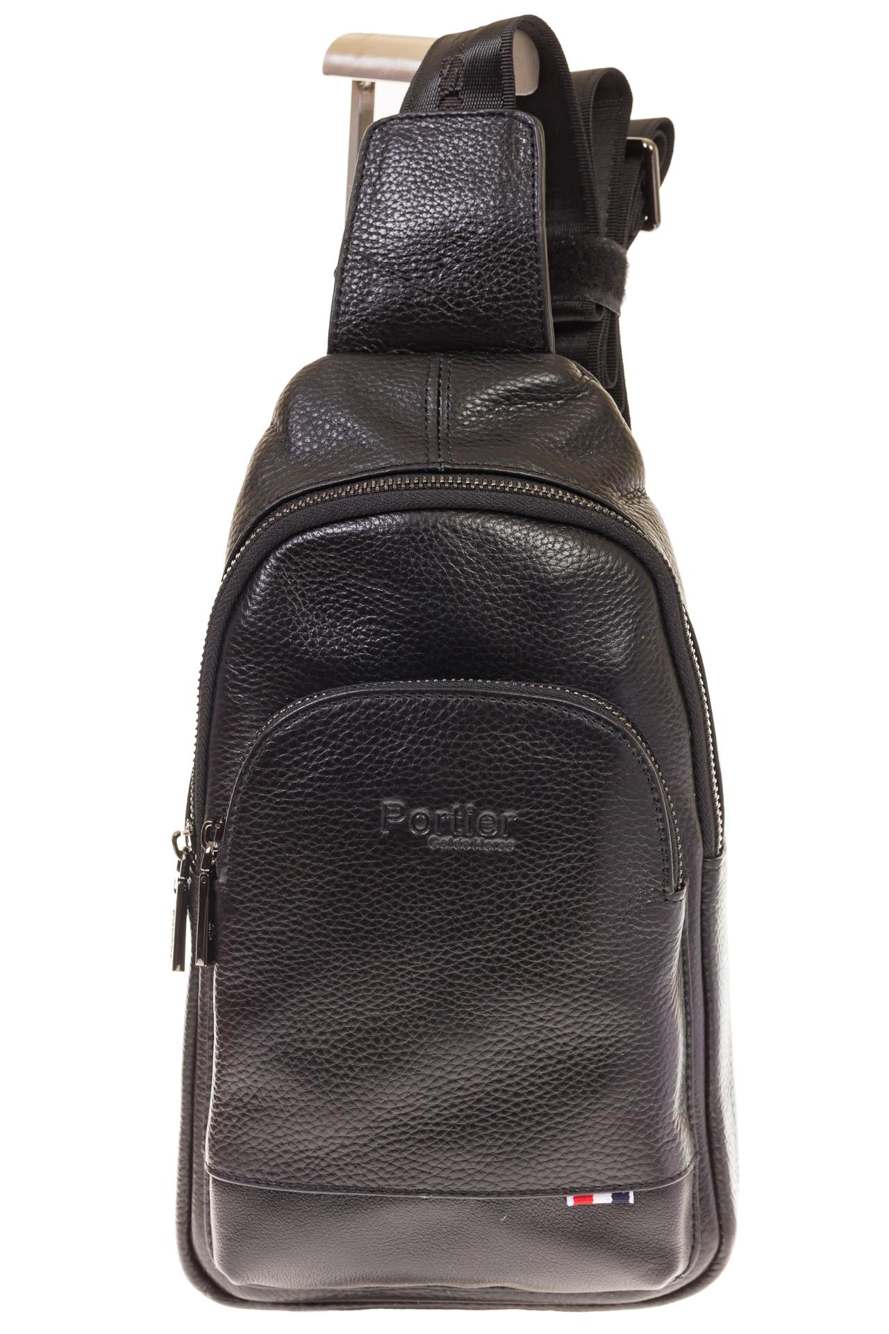 На фото 2 - Sling bag для мужчин из натуральной кожи 2098MM5