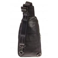 На фото 3 - Sling bag для мужчин из натуральной кожи 2098MM5