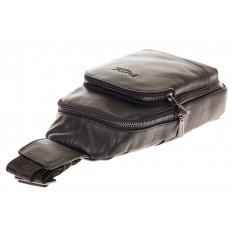 На фото 4 - Sling bag для мужчин из натуральной кожи 2098MM5