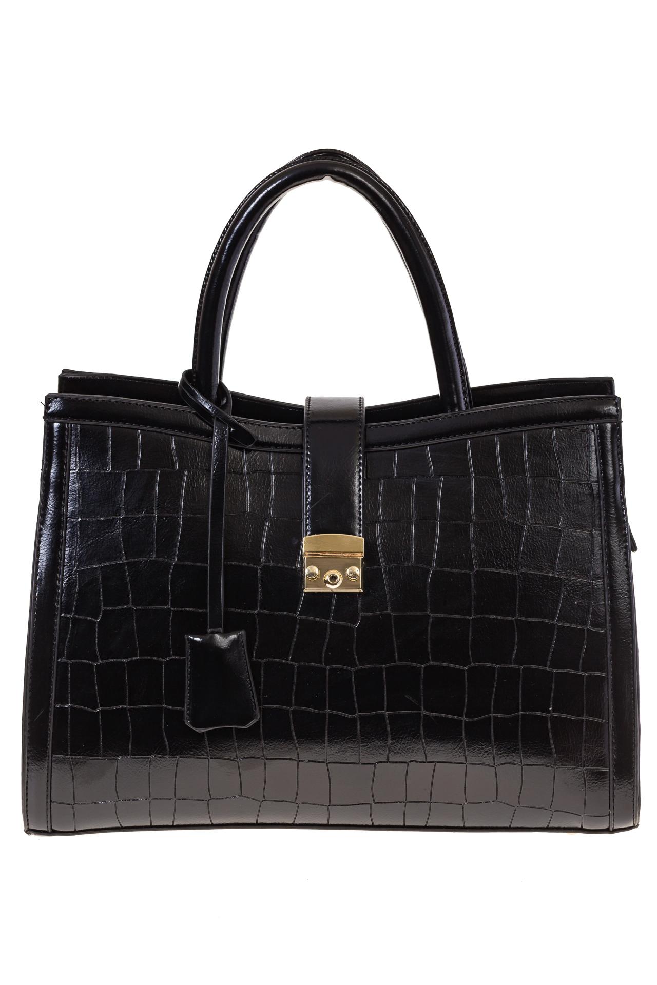 На фото 2 - Женская сумка из искусственной кожи