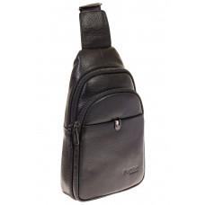 На фото 1 - Строгий sling bag из натуральной кожи 2111MM5