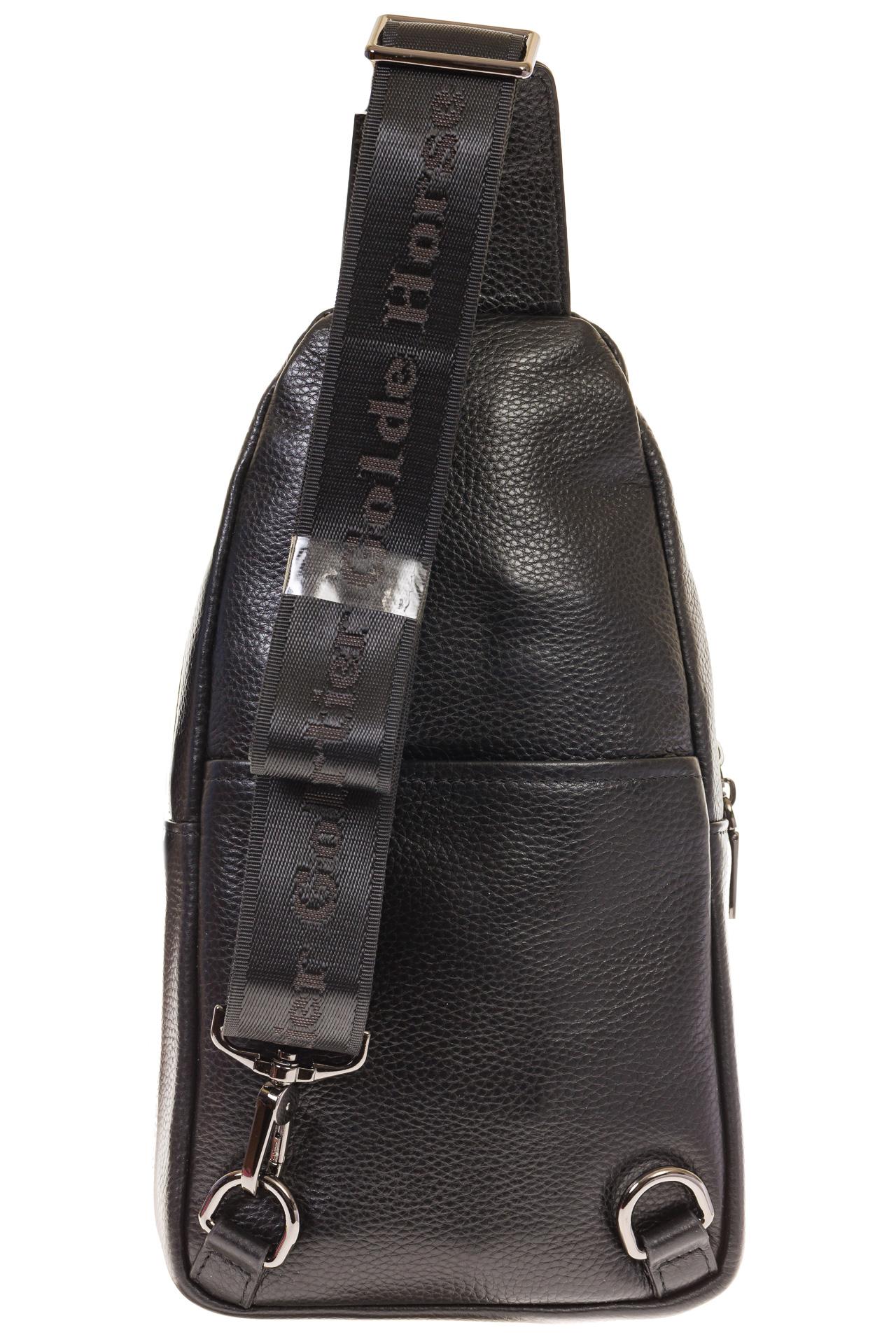На фото 3 - Строгий sling bag из натуральной кожи 2111MM5