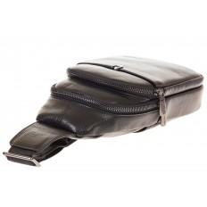 На фото 4 - Строгий sling bag из натуральной кожи 2111MM5