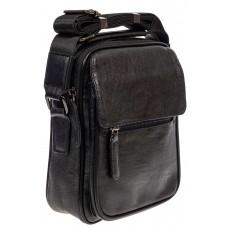 На фото 1 - Мужская сумка для документов, цвет чёрный