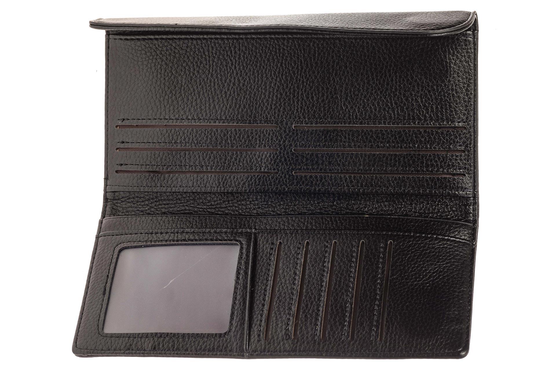 На фото 2 - Мужское полноразмерное портмоне из натуральной кожи