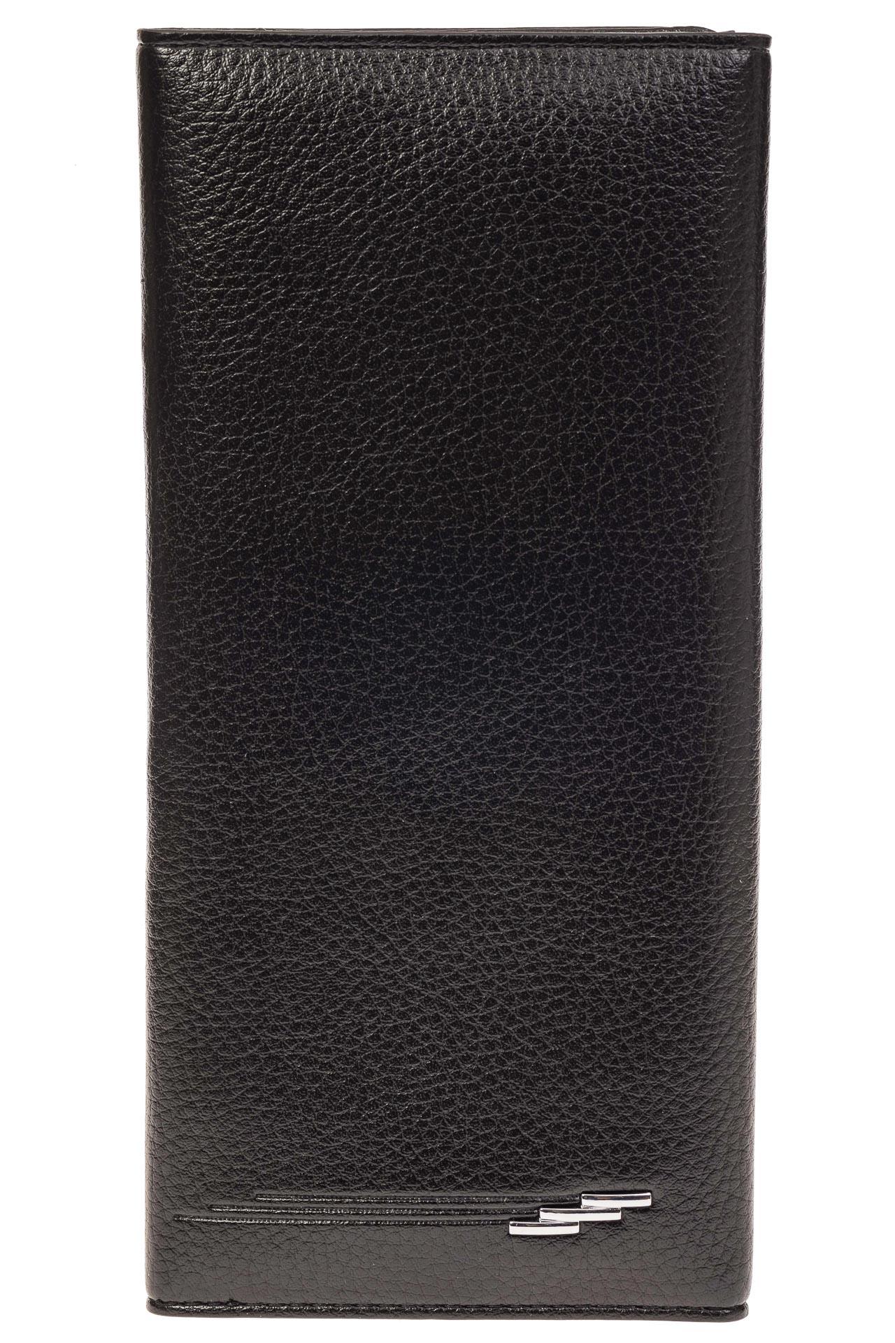 На фото 1 - Мужское полноразмерное портмоне из натуральной кожи