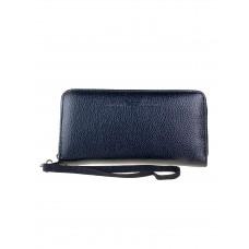 На фото 1 - Мужской кошелёк-клатч из искусственной кожи, цвет чёрный