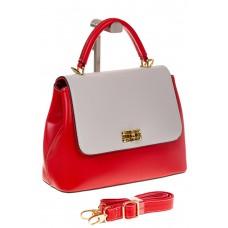 на фото Handbag из искусственной кожи красного цвета 2342MJ5