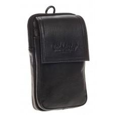 На фото 1 - Мужская сумка из натуральной кожи на поясной ремень