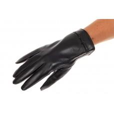 На фото 1 - Перчатки женские кожаные, размер на выбор, ...