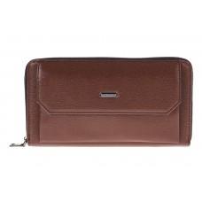 На фото 1 - Мужской кошелек, коричневый