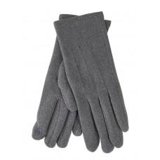 На фото 1 - Перчатки женские из кашемира, цвет серый