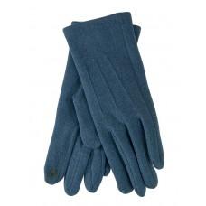 На фото 1 - Перчатки женские из кашемира, цвет бирюзовый