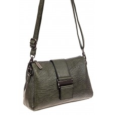 На фото 1 - Мягкая сумка трапеция из искусственной кожи...