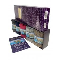 На фото 1 - Набор женских ароматизированных носков в подарочной коробке