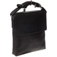 На фото 1 - Мужская сумка мессенджер из натуральной кожи