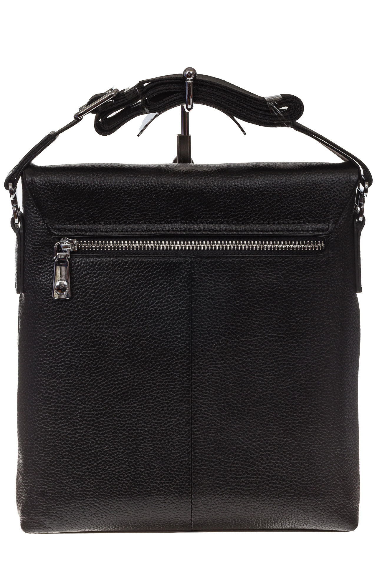 На фото 3 - Мужская сумка мессенджер из натуральной кожи