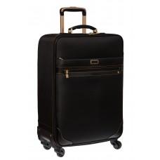 На фото 1 - Удобный текстильный чемодан 22 дюйма
