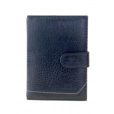 На фото 1 - Обложка для автодокументов и паспорта из экокожи, цвет чёрный