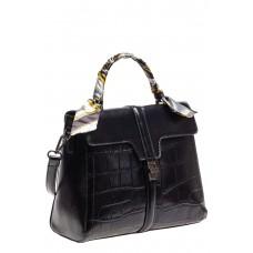 На фото 1 - Женская сумка из искусственной кожи