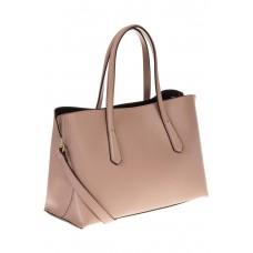 Handbag из натуральной кожи цвета пудра 3087MK5